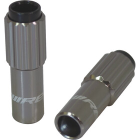 Jagwire Sport Mini Inline Cable Adjuster 2 Pieces, titan